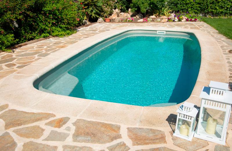 Modelo de piscina Haití