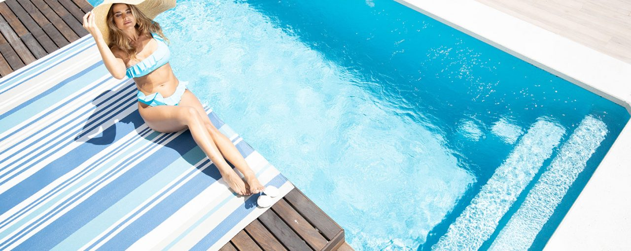 Poner a punto piscina después de aplicación de invernador